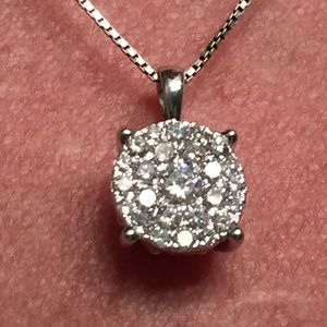 Jewelry - Diamond Cluster Pendant